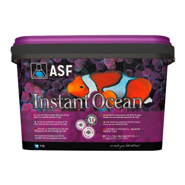 how to use instant ocean salt mix