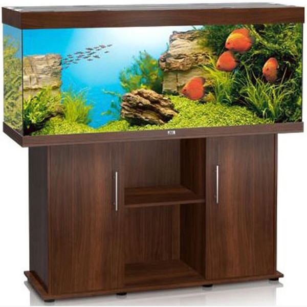 juwel rio 400 darkwood aquarium and cabinet combi. Black Bedroom Furniture Sets. Home Design Ideas