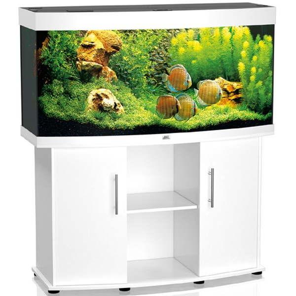 juwel vision 260 white aquarium and cabinet combi. Black Bedroom Furniture Sets. Home Design Ideas