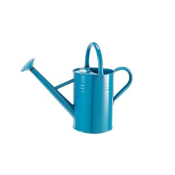1 gal petrol blue metal watering can - Gallon metal watering can ...