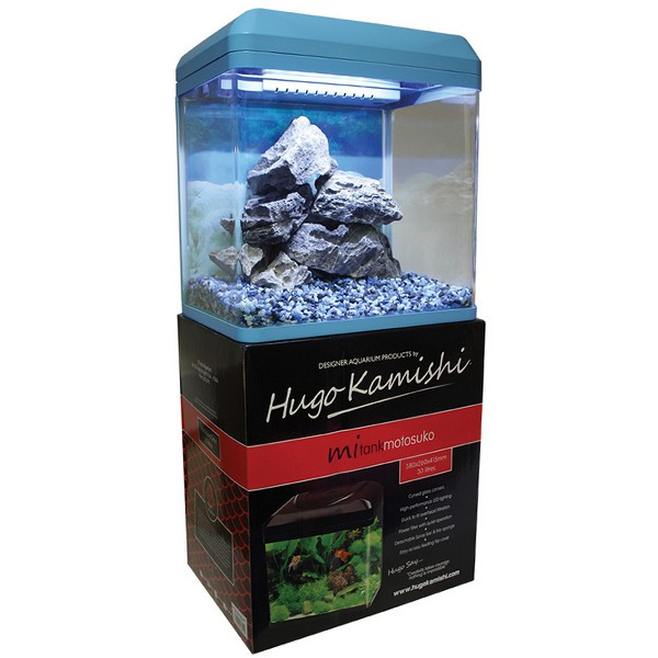 hugo mitank motosuko blue 30l aquarium. Black Bedroom Furniture Sets. Home Design Ideas
