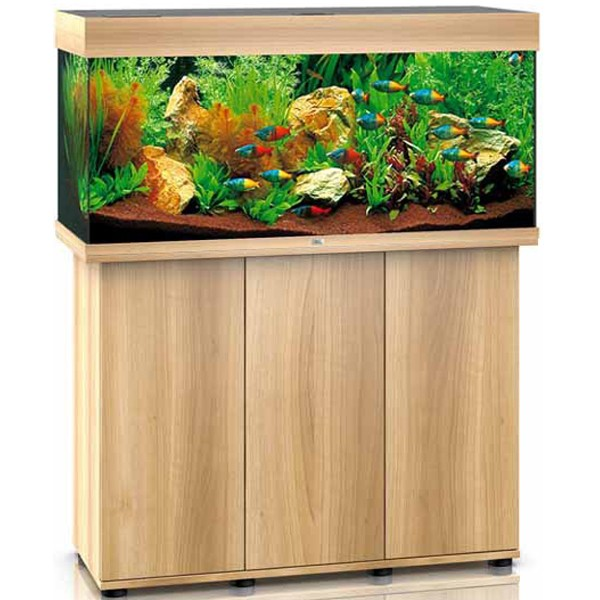 juwel rio 180 lightwood aquarium and cabinet combi. Black Bedroom Furniture Sets. Home Design Ideas
