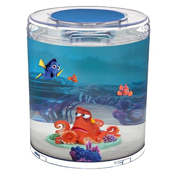 Penn plax finding dory cylinder betta aquarium for Finding dory fish tank