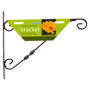 35cm (14in) Standard Hanging Basket Bracket Black