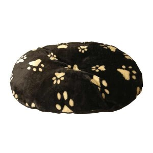 18in Oval Fur Cushion