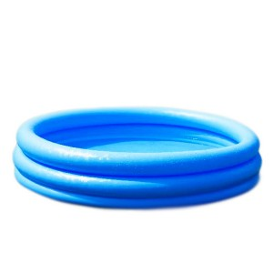 "45"" x 10"" 3 Ring Crystal Blue Pool In Polybag"