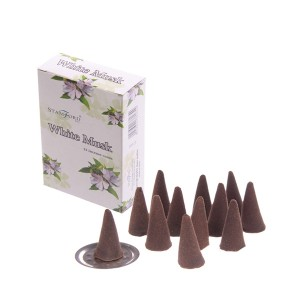37165 White Musk Incense Cones Stamford Hex