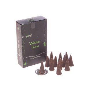 37179 Witches Curse Incense Cones Stamford Black