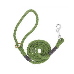 12mm X 48in Rope Lead T/h Olive