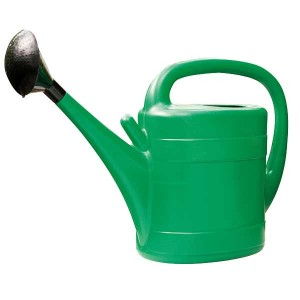10ltr Plastic Watering Can - Green