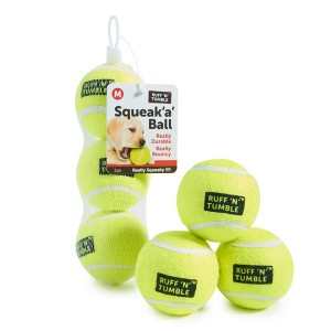 2.5ó Squeaky Tennis Ball-pk3