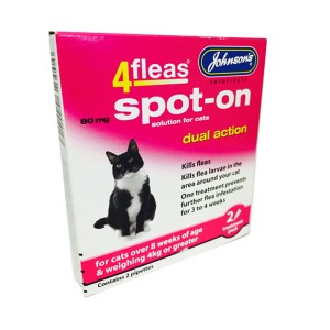 4fleas Spot On Cat 2 Months Treatment