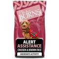 Burns Alert Assistance Chicken And Brown Rice 12kg