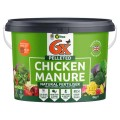6X Pelleted Chicken Fertiliser 8kg