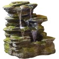 Como Springs Water Feature With Led Lights