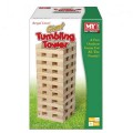 60Pc Giant Wooden Tumbling Tower In Colour Box M.Y