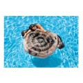 Inflatable Pug Face Island Pool Float 1.73x1.3m