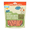 Good Boy Chewy Chicken With Carrot Sticks 320g