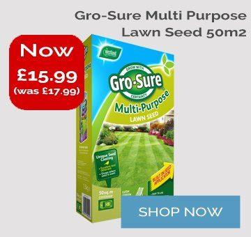Gro-Sure Multipurpose Lawn seed 50m2