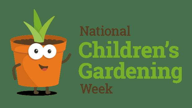 National Children's Gardening Week Logo