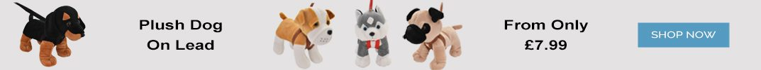 Plush Dogs On Lead